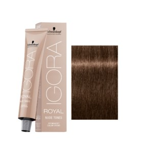 6-46 Dark Blonde Beige Chocolate Nude Tone Igora Royal
