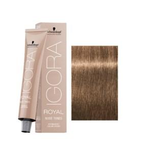 8-46 Light Blonde Beige Chocolate Nude Tone Igora Royal
