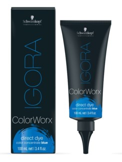 Igora ColorWorx Direct Dye Blue 100ml