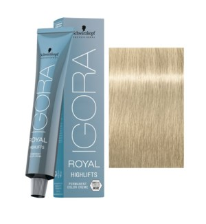 10-1 Ultra Blonde Cendre Highlift Igora Royal