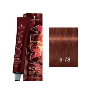 6-78 Fiery Copper Opulescence Igora Royal