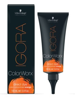 Igora ColorWorx Direct Dye Orange 100ml