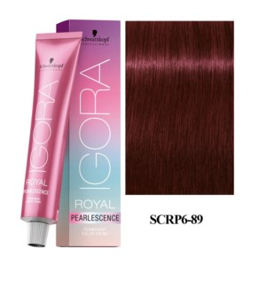 *6-89 Dark Blonde Magenta Pearlescence Igora Royal