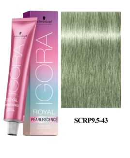 9.5-43 Pastel Mint Peralescence Igora Royal