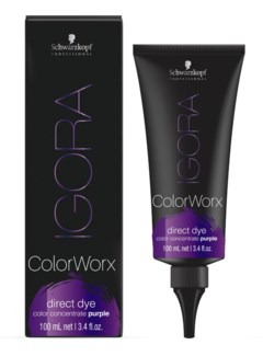 Igora ColorWorx Direct Dye Purple 100ml