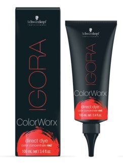 Igora ColorWorx Direct Dye Red 100ml