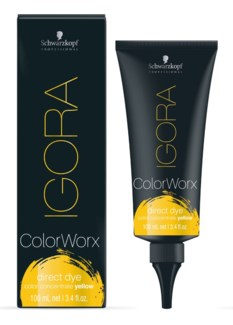 Igora ColorWorx Direct Dye Yellow 100ml
