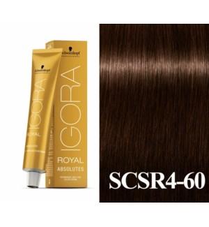 New 4-60 Dark Brown Chocolate Natural Absolute Igora Royal