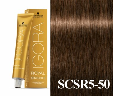 5-50 Medium Brown Gold Natural Absolute Igora Royal