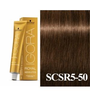 5-50 Medium Brown Gold Natural Absolute Igora Royal