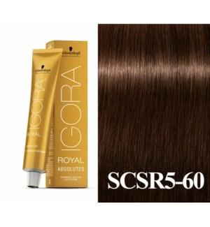 5-60 Medium Brown Chocolate Natural Absolute Igora Royal
