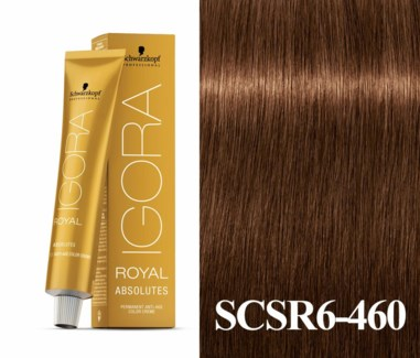 New 6-460 Age Blend Light Brown Absolute Igora Royal