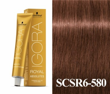New 6-580 Light Brown Age Blend Absolute Igora Royal