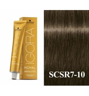 7-10 Medium Blonde Cendre Natural Absolute Igora Royal