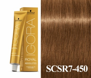 New 7-450 Dark Blonde Age Blend Absolute Igora Royal