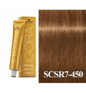 New 7-450 Dark Blonde Age Blend Absolute Igora Royal