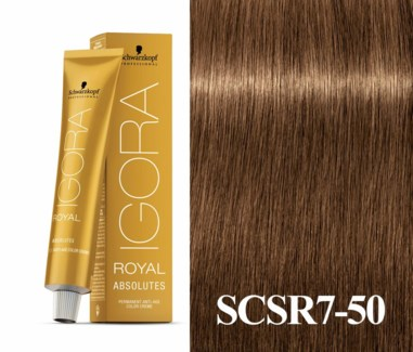 7-50 Dark Blonde Gold Natural Absolute Igora Royal