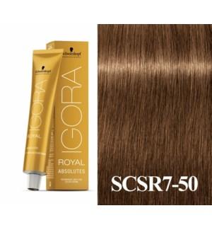 7-50 Dark Blonde Gold Natural Absolute Igora Royal