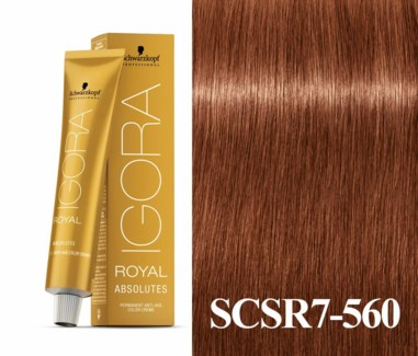 New 7-560 Dark Blonde Age Blend Absolute Igora Royal