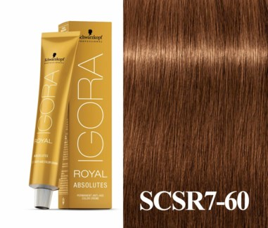 7-60 Dark Blonde Chocolate Natural Absolute Igora Royal
