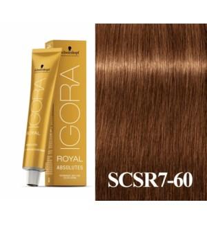 7-60 Dark Blonde Chocolate Natural Absolute Igora Royal