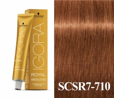New 7-710 Dark Blonde Age Blend Absolute Igora Royal