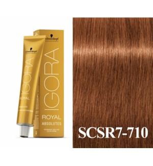New 7-710 Dark Blonde Age Blend Absolute Igora Royal
