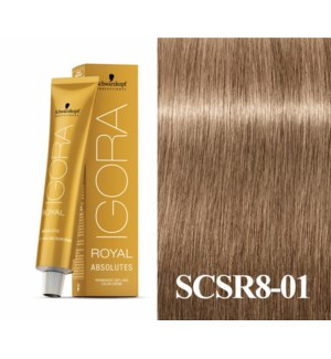 New 8-01 Age Blend Light Blonde Absolute Igora Royal