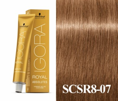 New 8-07 Age Blend Light Blonde Absolute Igora Royal