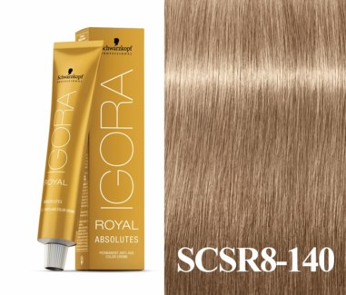 New 8-140 Age Blend Medium Blonde Absolute  Igora Royal