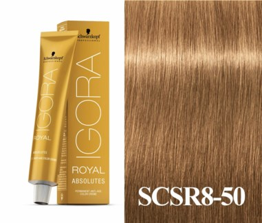 8-50 Light Blonde Gold Natural Absolute Igora Royal