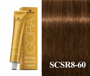 8-60 Blonde Chocolate Natural Absolute Igora Royal
