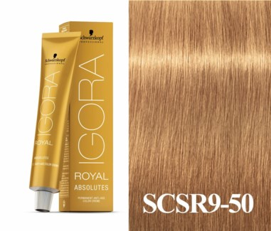 9-50 Extra Light Blonde Gold Natural Absolute Igora Royal