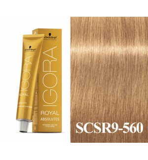 New 9-560 Extra Light Blonde Age Blend Absolute Igora Royal