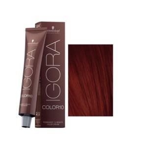 * 4-89 10 Min Igora Color10 Med Brown Red