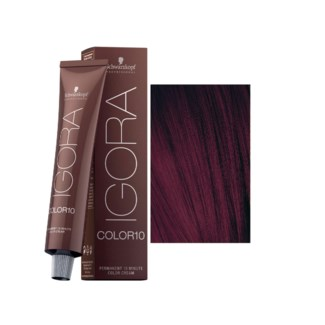 4-99 10 Min Medium Brown Violet Extra Igora Royal