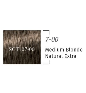 7-00 10 Min Igora Color10 Medium Blonde Cendre