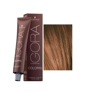 New 7-57 10 Min Medium Blonde Copper Igora Royal