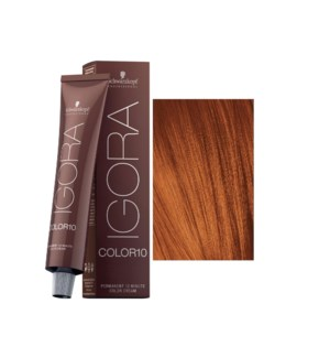 New 7-7 10 Min Medium Blonde Copper Igora Royal