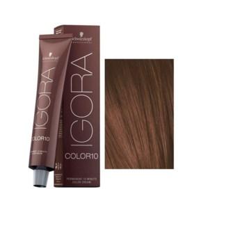 8-65 10 Min Light Blonde Chocolate Gold Igora Royal Color10