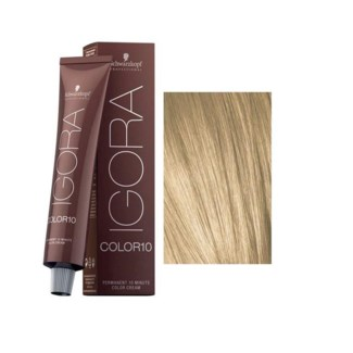 9-0 10 Min Igora Color10 Extra Light Blonde Natural