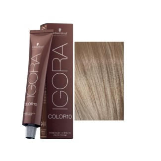 9-12 10 Min Extra Light Blonde Cendre Ash Igora Royal Color10