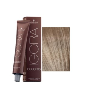 9-12 10 Min Extra Light Blonde Cendre Ash Igora Royal Color10