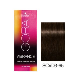 NEW VIBRANCE 3-65 Dark Brown Chocolate Gold