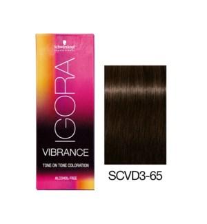 Vibrance 3-65 Dark Brown Chocolate Gold