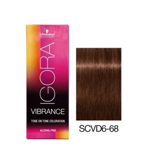 NEW VIBRANCE 6-68 Dark Blonde Chocolate Red