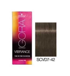 New Vibrance 7-42 Medium Blonde Beige Ash MUTED DESERT