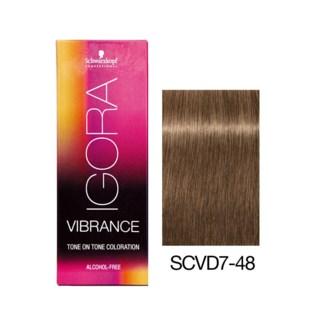 NEW VIBRANCE 7-48 Med Blonde Beige Red