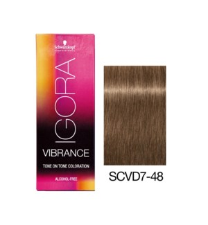NEW VIBRANCE 7-48 Medium Blonde Beige Red