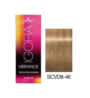 Vibrance 8-46 Light Blonde Beige Chocolate